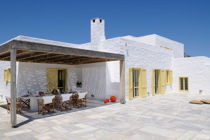 Paros, GreeceArquitecture House, Cyclades Greece, Greek Architecture, Beach Houses, Stones Paths, Paros Greece, Santa Maria, Maria Beach, Beach Front