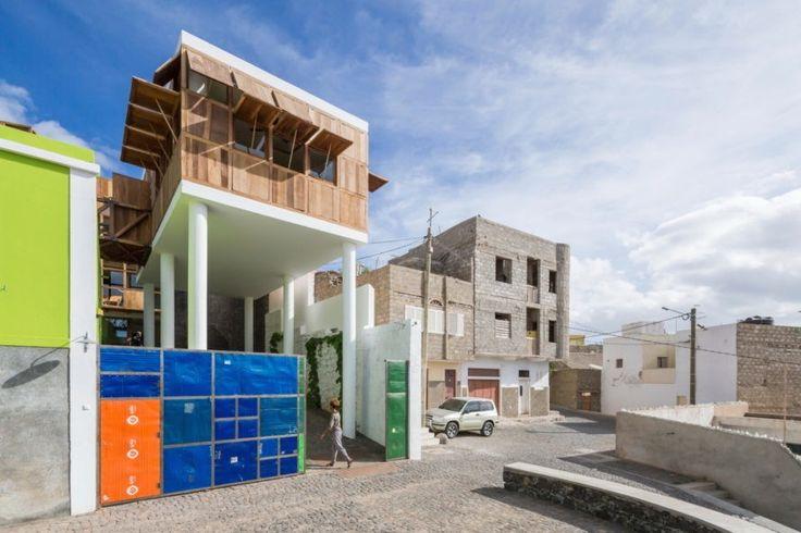 Terra Lodge Hotel, Terra Lodge Hotel Sao Vicente, Terra Lodge Hotel Cape Verde, Terra Lodge Hotel by Ramos Castellano Arquitectos, solar -powered Sao Vicente hotel,