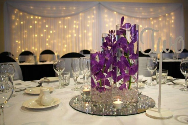 Mercure Townsville - Lakes Room - Wedding Reception - Table Centrepieces - Elegant