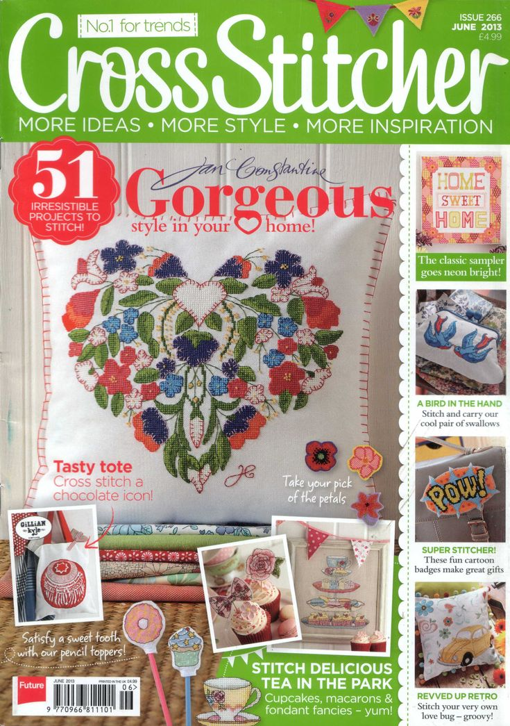 Cross Stitcher Magazine - June 2013 266 - CrossStitcher