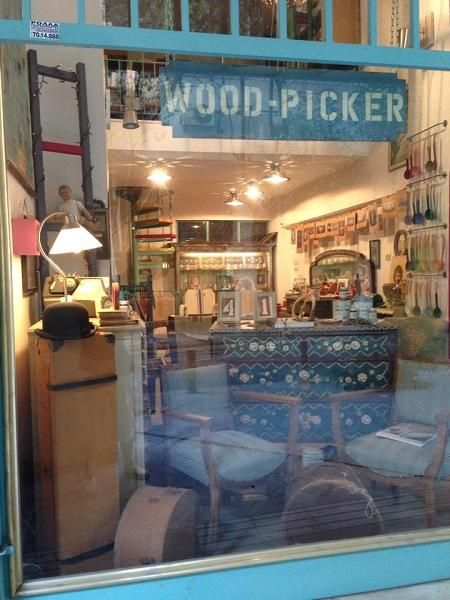 Elsa Kopassi has her shop, Wood Picker In the heart of Athens  running a beautiful shop as well as being our distributor for the area.