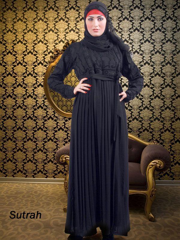 Velvet Bodice Abaya | Sutrah Abayas &  Islamic Clothing | Islamic Boutique