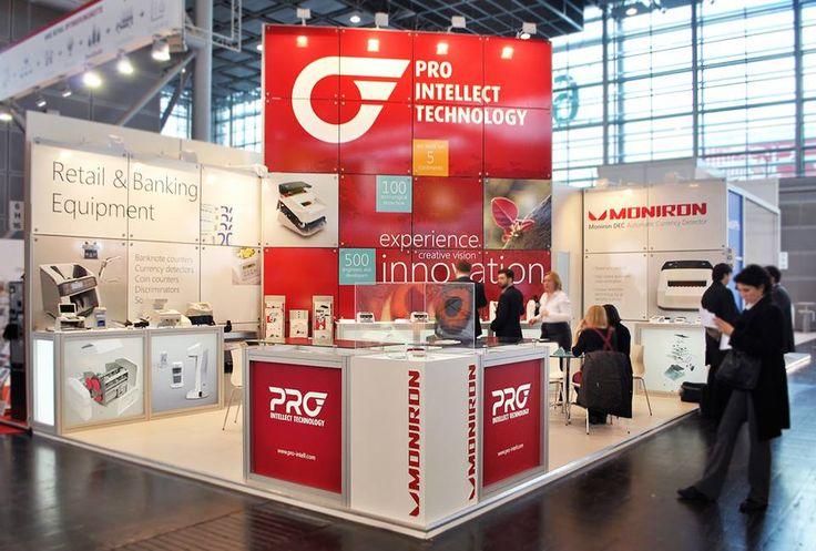 Stand PRO on Euroshop 2014 Dusseldorf #exhibitions #europeanexhibitions #buildup #gc_granat #design #exhibitionstand #exhibitionbooth