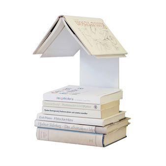 Readers Nest bokhylle - hvit - David design