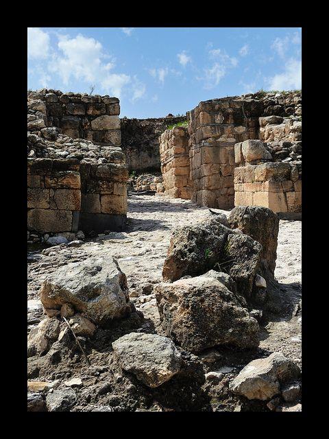 Ruins of megiddo armageddon