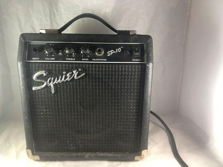Fender Squier Guitar Amplifier, Amp Model SP-10,  (Shelf) #SquireFender