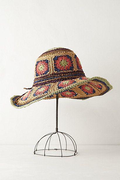 Crocheted Sonesta Hat by Anthropologie
