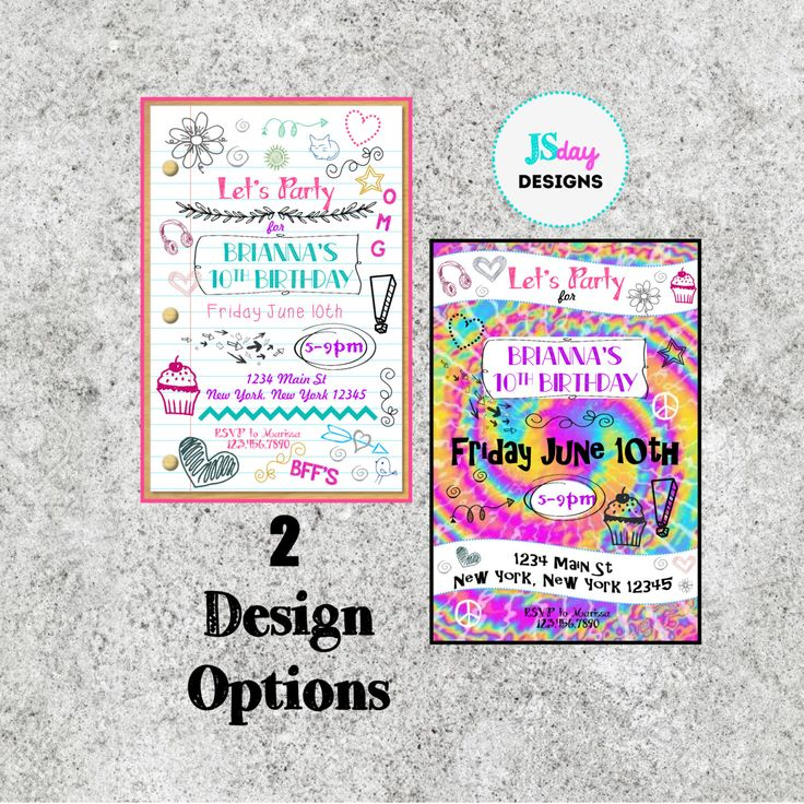 The 25 best Teen birthday invitations ideas on Pinterest 11th