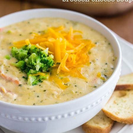 As delicious as Panera, but in the comfort of your own home! Try this copycat Panera broccoli cheese soup!