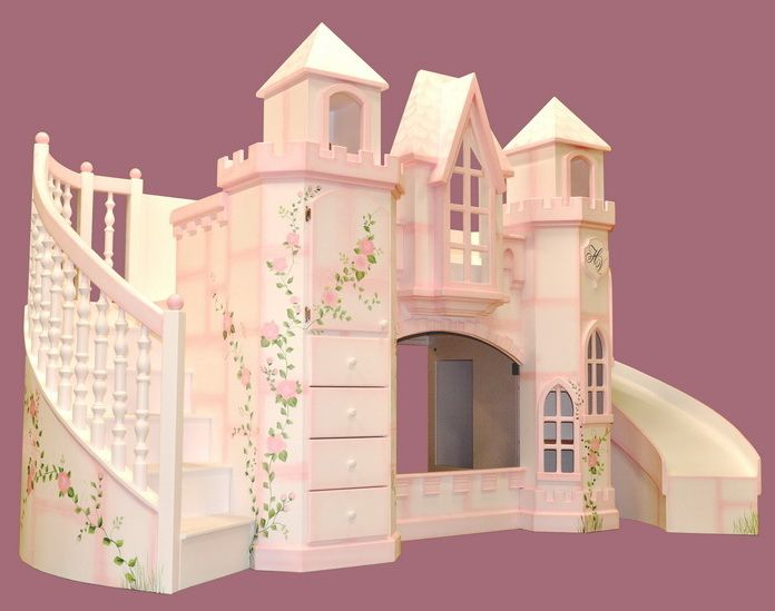Castle bunk beds Childrens Bedrooms Pinterest