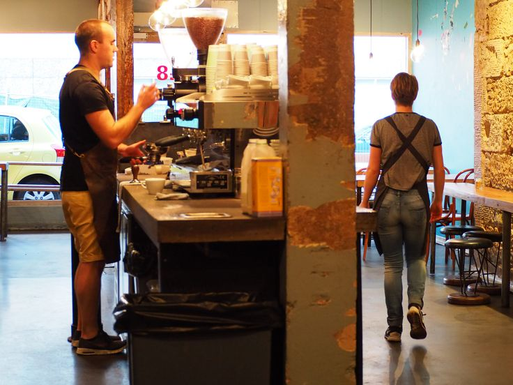 Pilgrim Coffee Hobart Tasmania Cafe industrial specialty coffee