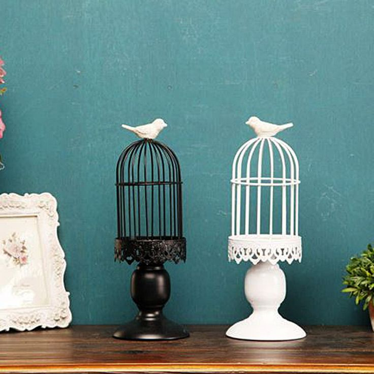 Bird Cage Candle Holder //Price: $23.34 & FREE Shipping //     #housedecoration