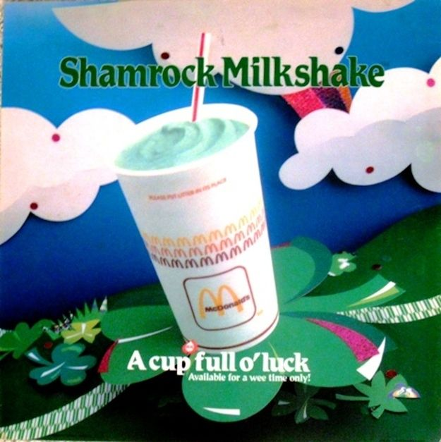 Shamrock Shakes were discontinued nationally in the early '90s. Its cult following and huge Internet presence led to it being re-introduced in the late-'00s. | 6 Things You Didn't Know About McDonald's Shamrock Shake