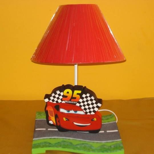 linda lampara del Rayo mcqueen
