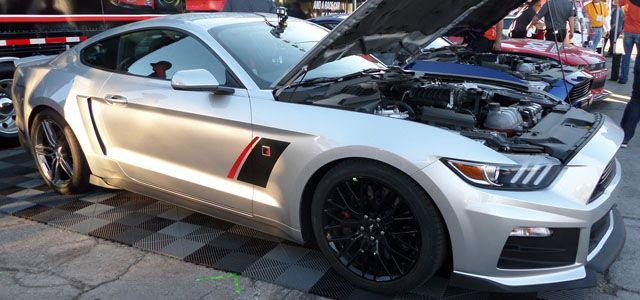 2015 Roush Stage 3 Mustang debuts at SEMA Show - FnSweet