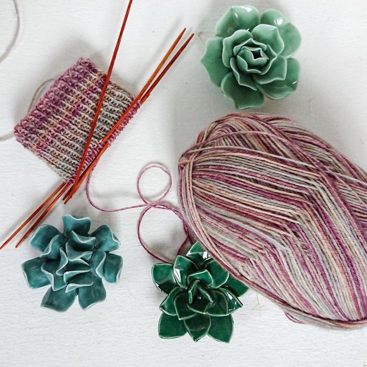 My new superpower: Knitting socks!