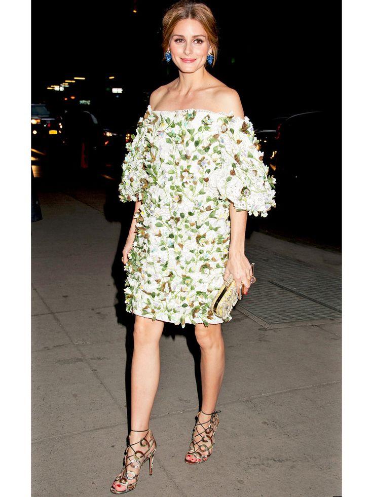 オリヴィア・パレルモの花咲けるイヴニングドレス