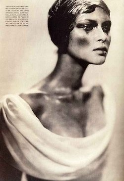Vogue Italia, March 1997Photographer : Paolo RoversiModel : Tasha Tilberg Happy birthday, Tasha !