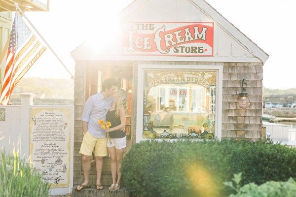Nautical Engagement in Rockport, Ma. | http://classicbrideblog.com/2015/11/nautical-engagement-in-rockport-ma.html/ | Image by Sarah Jayne Photography