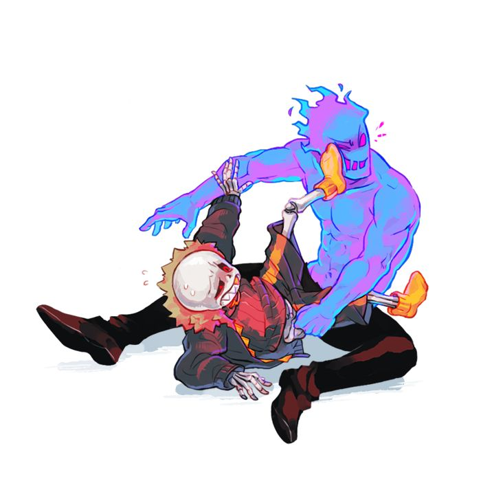 This Is To All The People Who Ship Sans X Grillby. XP