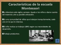 Pedagía Montessori, un tipo de pedagogía alternativa