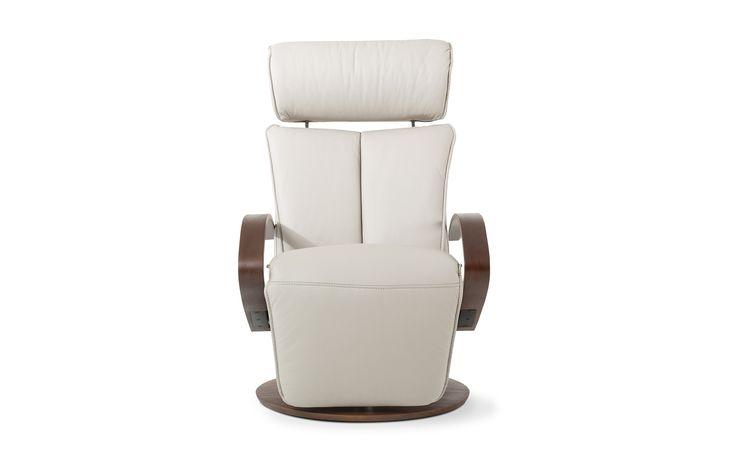 2856$   Galerie du meuble  Fauteuil inclinable cuir 856 - Fauteuils - Salons   La Galerie du Meuble