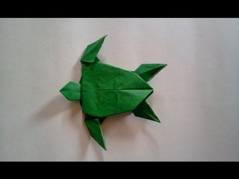 How to make Origami Turtle - YouTube