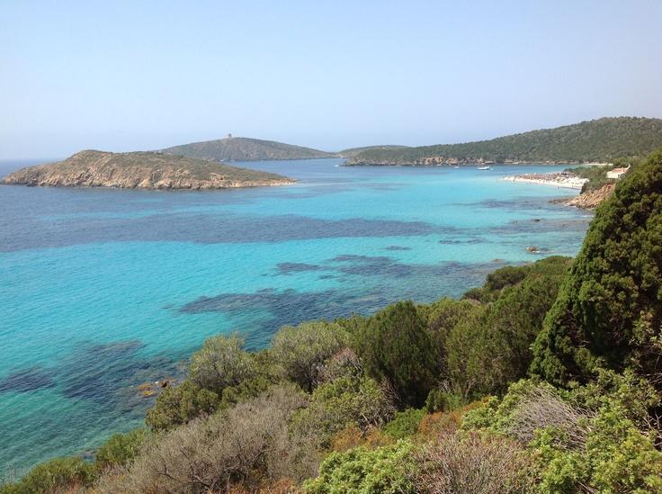 Tueredda scorcio della spiaggia - Teulada