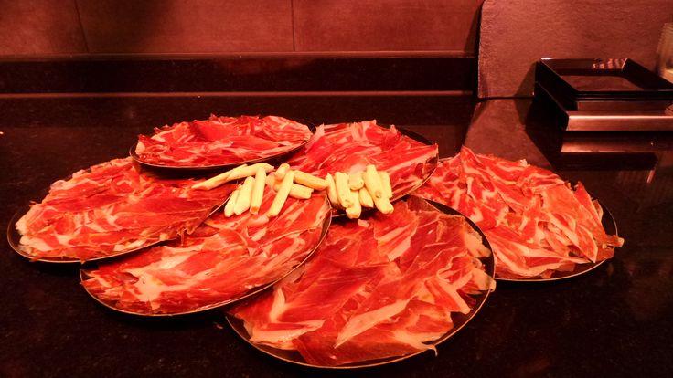 El jamón más rico en Sabor a Dehesa, Platea Madrid.