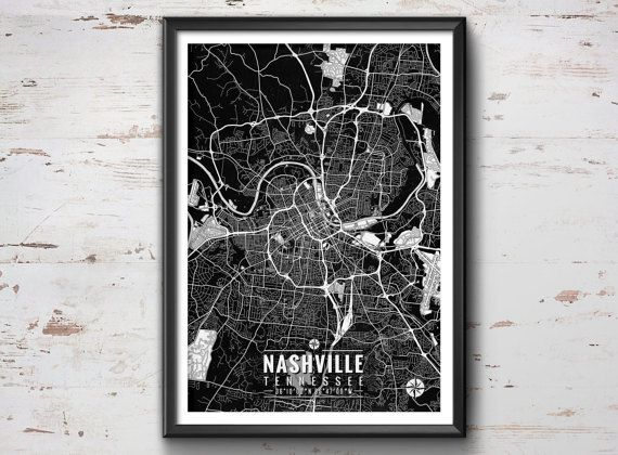 Nashville Wall Art best 25+ nashville map ideas on pinterest | girls trip nashville