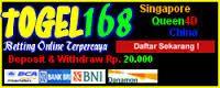BANDAR ONLINE TERPERCAYA: TOGEL168 BANDAR TERPOPULER