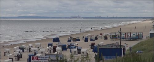 Het steeds populairder wordende stranden van Usedom. #strand #usedom