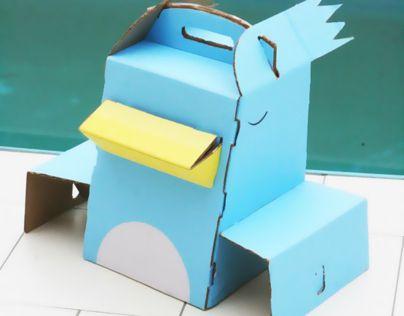 Projeto acadêmico realizado à Materia de Metodologia do Projeto III, para uma linha de Cestas de Piquenique, feitas de papelão