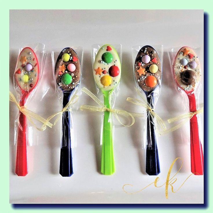 Chocolate heaven on a spoon!