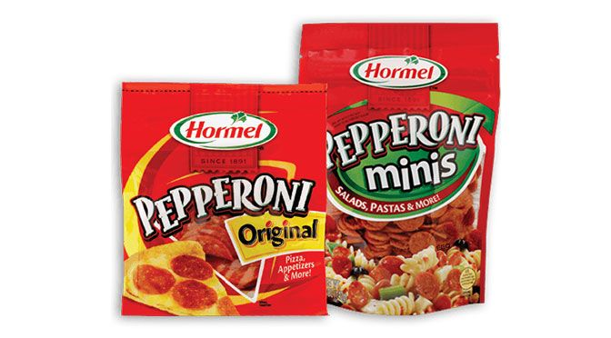 coupon rabais de 1$ hormel Pepperoni