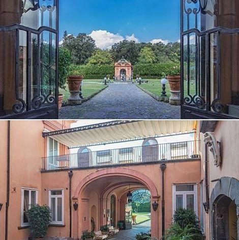 """Due Magnifici Scorci di """"Villa Signorini"""", la Dimora Storica che ospita il nostro Ristorante di Cucina Tradizionale Partenopea e Campana!!!"""