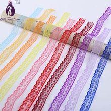 20 MM vyšívané čipky a vrkoč, 17 farby 20 yardov / lot francúzsky Ruban dentelle ženy stuhy a ozdoby na šitie (Čína (pevninská časť))