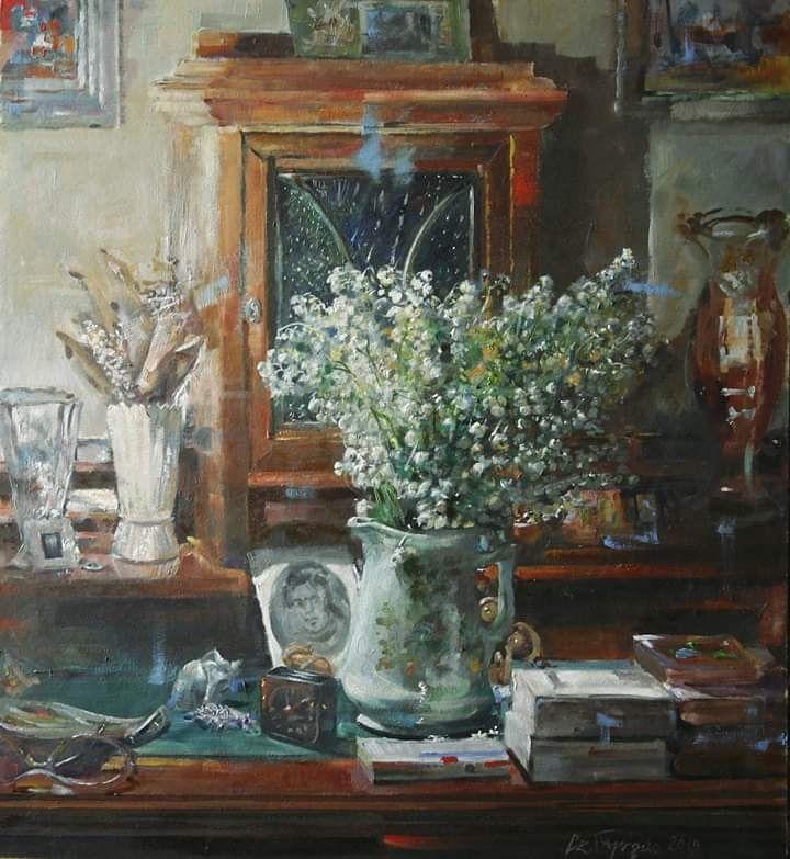 Konwalie Art Painting Artist