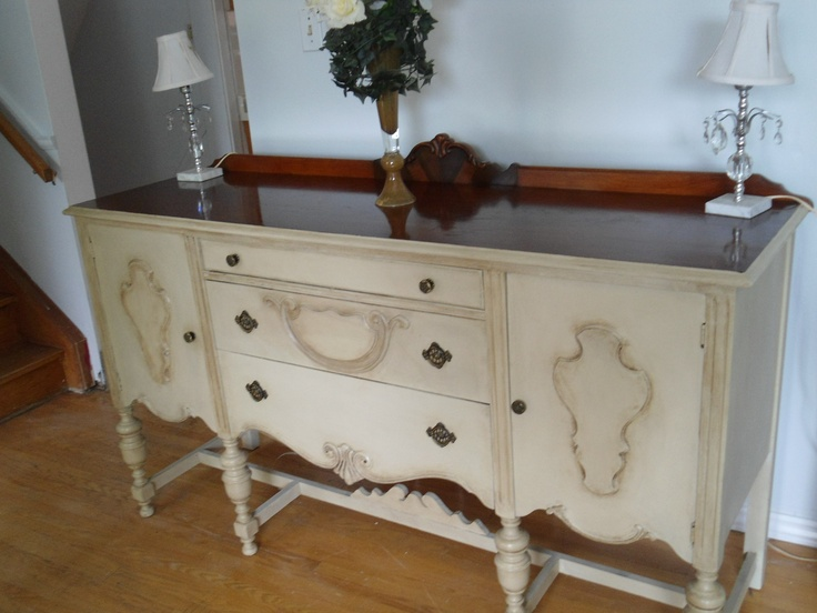French Country Buffet, Console Or Sideboard. Finished With Annie Sloan  Chalk Paint And Wax