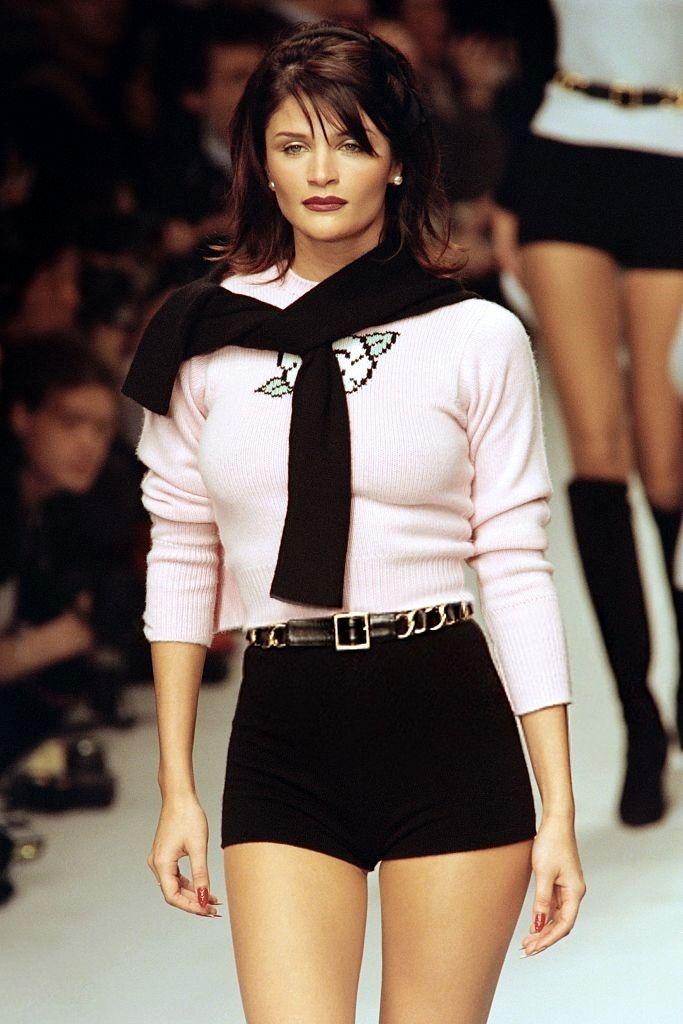Helena Christensen - CHANEL Fall/Winter 1995