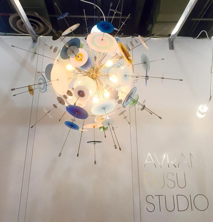 A day in javits center to visit our friends at the icff as seen here studio lightingglass