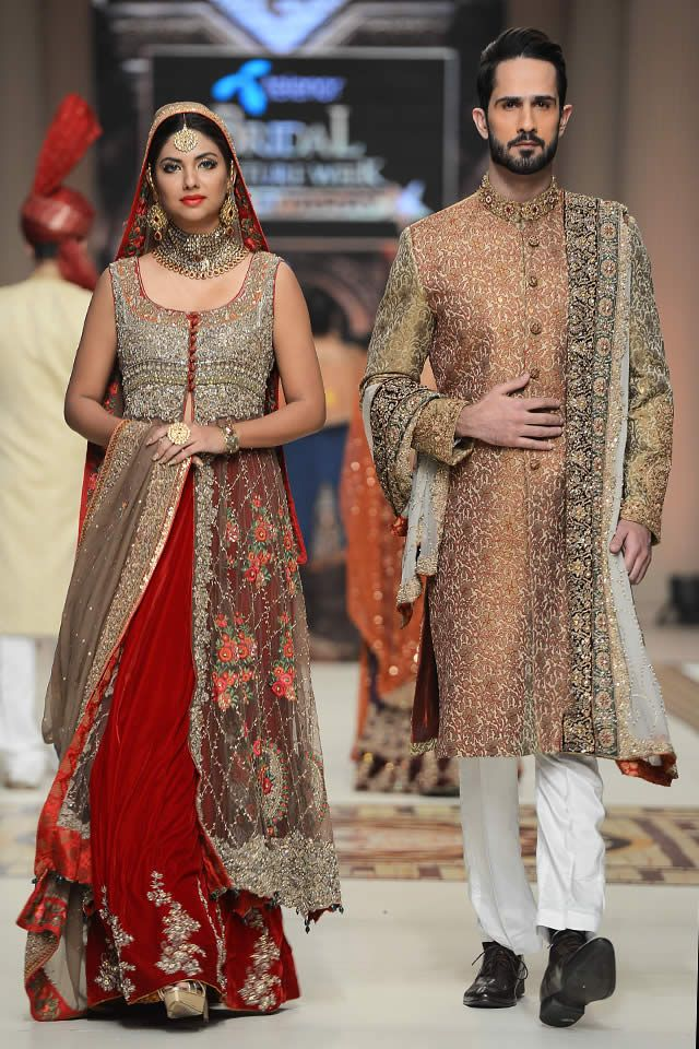 Aisha Imran Telenor Bridal Couture Week 2014 Souvenir Collection