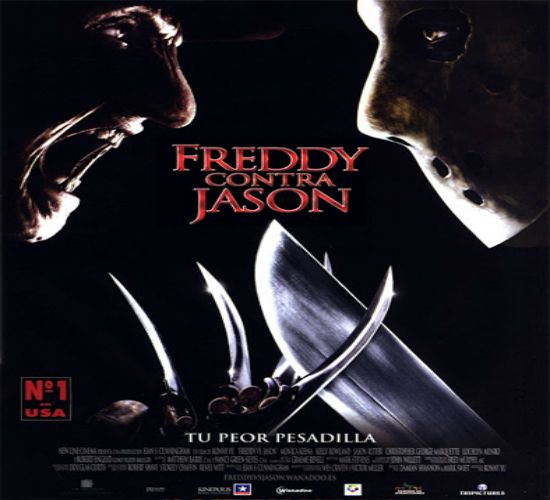 """""""Freddy Vs. Jason"""" FREDDY VS. JASON  SYNOPSIS: """"FREDDY VS. JASON """"Freddy Krueger (Robert Englund) ... IN HELL IS REAL. TEN YEARS AGO THIS CHARACTER (ONE OF THE MOST terrifying OF ALL TIMES AND STAR OF THE NIGHTMARE ON ELM STREET SERIES) SHOOK OUR DREAMS TO HOLD YOUR BLOODY REVENGE. BUT REMEMBER FREDDY CONSISTENTLY BEEN CLEARED IN TOWN, WHICH PEOPLE ARE DETERMINED TO FINISH WITH HIM. POTENTIAL VICTIMS WERE TO PREVENT drugged dream, IM LEAVING"""