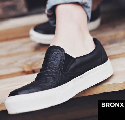 Slip-on shoes bronx