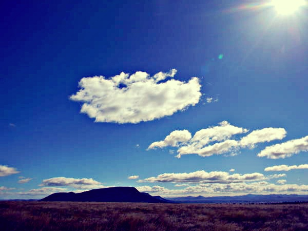 The clouds in the Karoo - amazing to watch - Come & visit us in Graaff-Reinet - it's a world you have to see.    www.camdeboocottages.co.za