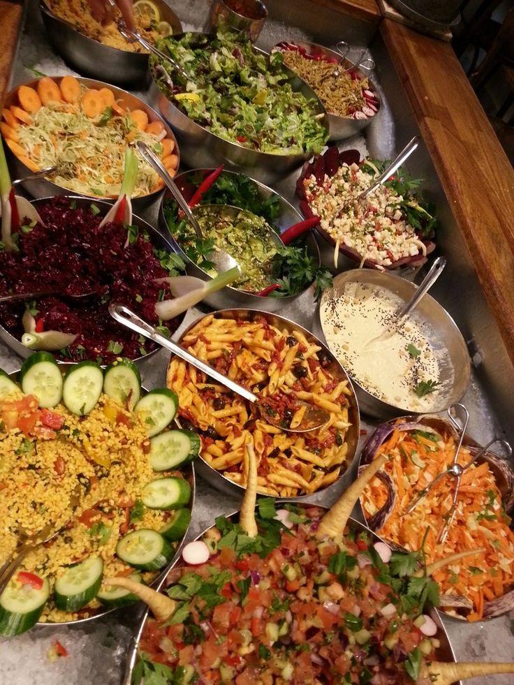 Hermans - Stockholm, Sverige. Die leckere Auswahl an gesundem Essen