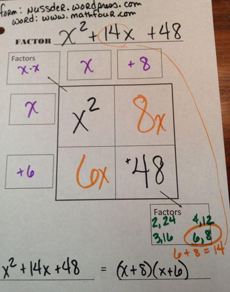 Factoring Polynomials – FREE Worksheet | MathFour