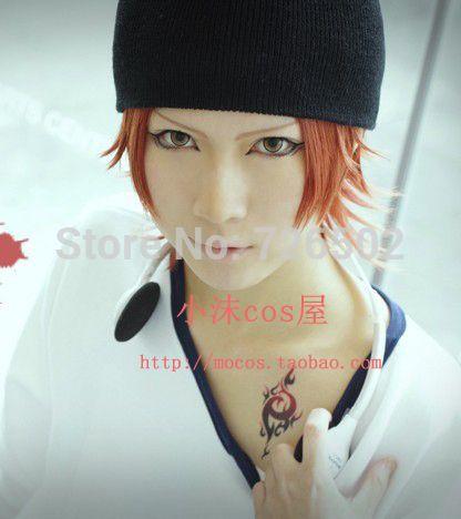 [ Сяо мо ] к ята мисаки короткие красновато-коричневый аниме косплей hair парень девушка волосы высокая температура провода бесплатная доставка + шляпа
