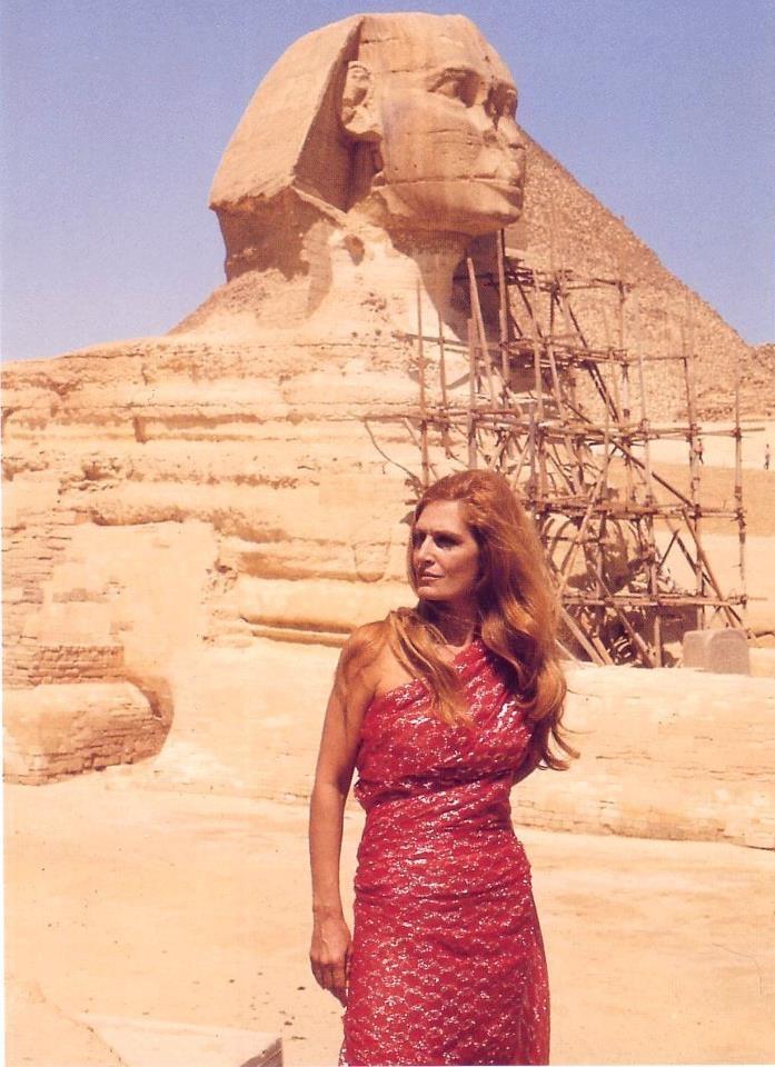 """Retour en Egypte en 76 pour le tournage de """"Dalida pour Toujours"""""""