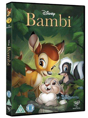 Bambi Disney DVD